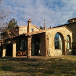 Our Tuscan home for the week.